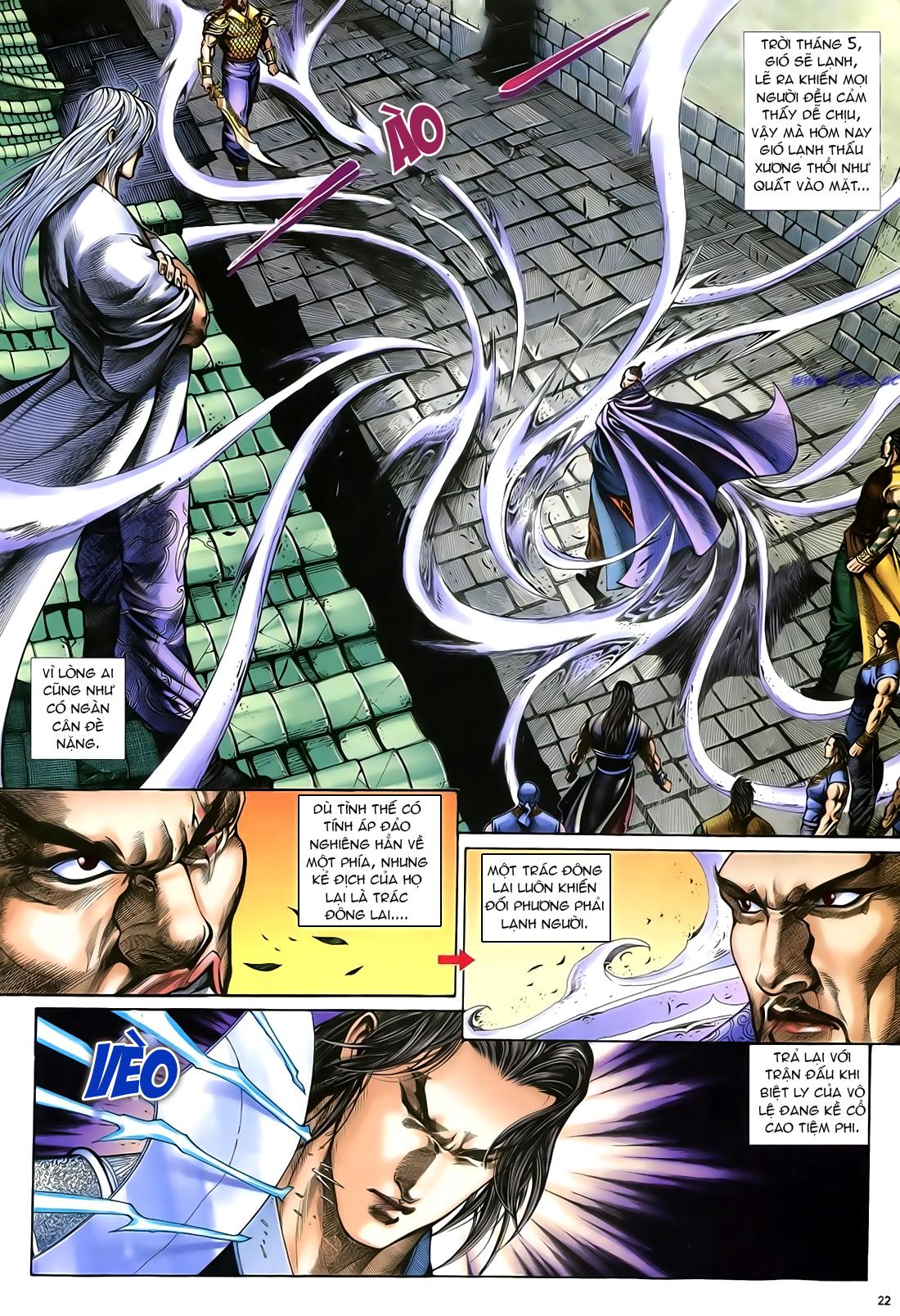 Anh hùng vô lệ Chap 21 trang 23