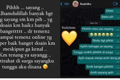 Pesan Mengharukan Istri Okky Bisma Pramugara Sriwijaya Air Ditemukan Meninggal