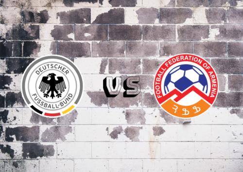 Alemania vs Armenia  Resumen y Partido Completo
