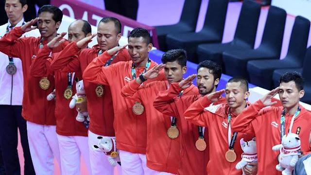 Klasemen Asian Games 2018: Indonesia Dipastikan Posisi Empat Sampai Akhir