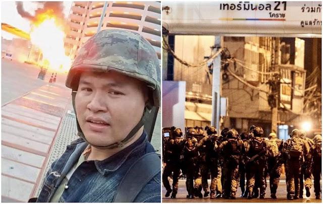 """Selepas 17 Jam """"Sembunyi"""", Akhirnya Askar Thailand Ditembak Mati"""
