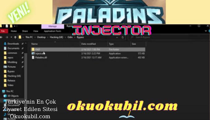 Paladins Odin Injector 4.2 UD internal multihack İndir Şubat 2021
