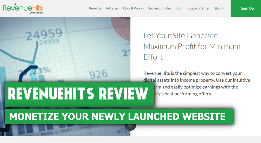 RevenueHits Review Best Ad Network for Small Bloggers