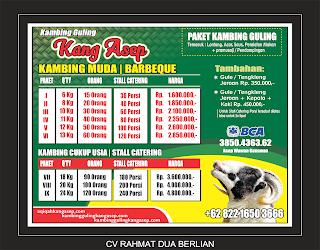 harga kambing guling agustus 2019