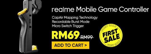Realme Mobile Game Finger Controller