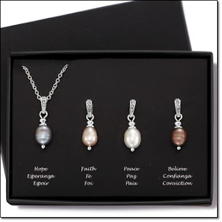 Genuine Freshwater Pearl Necklace Set