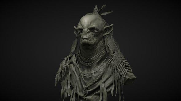 Daniel Bystedt artstation arte ilustrações modelos 3D ficção fantasia