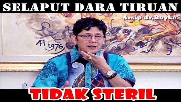 Dokter Boyke: Selaput Dara Tiruan Tidak Steril