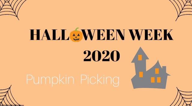 Pumpkin picking blog post header