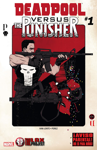 Deadpool vs The Punisher - Comic - Portada