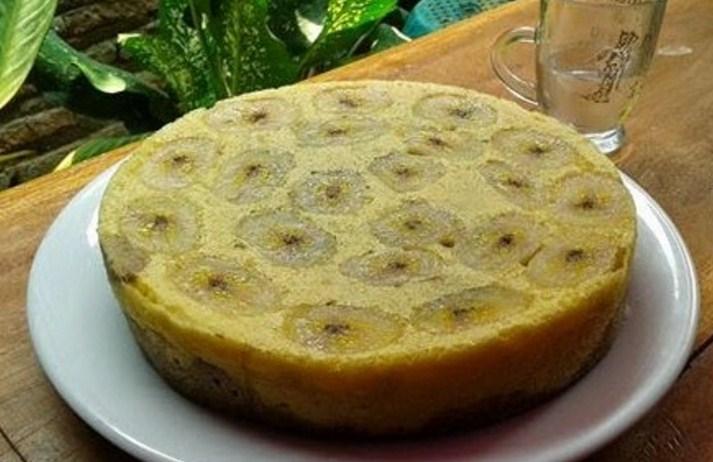 Resep kue pisang kukus