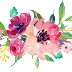 Water Colour Flower PNG 9