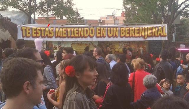 Aprende español callejeando por Madrid: Te estás metiendo en un berenjenal