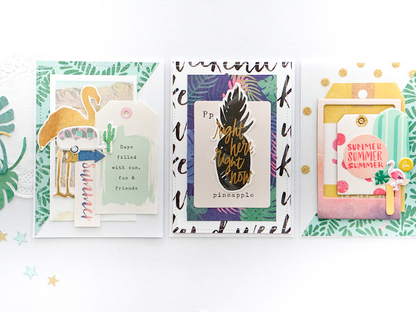 Crate Paper Design Team : Summer Cards