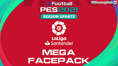 PES 2021 LaLiga Santander Mega Facepack
