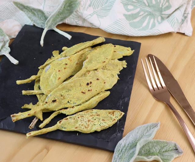 Esta planta tem gosto de peixe e eu fiz peixe vegano empanado com ela (massa saudável sem trigo)