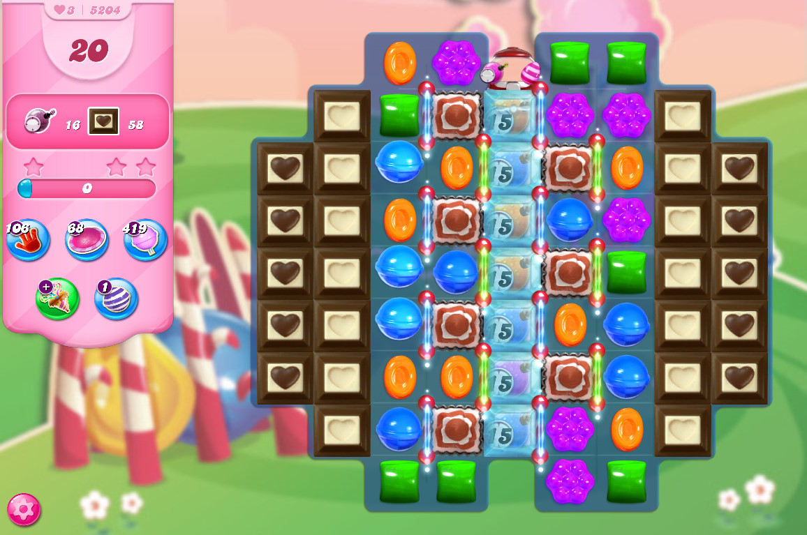 Candy Crush Saga level 5204