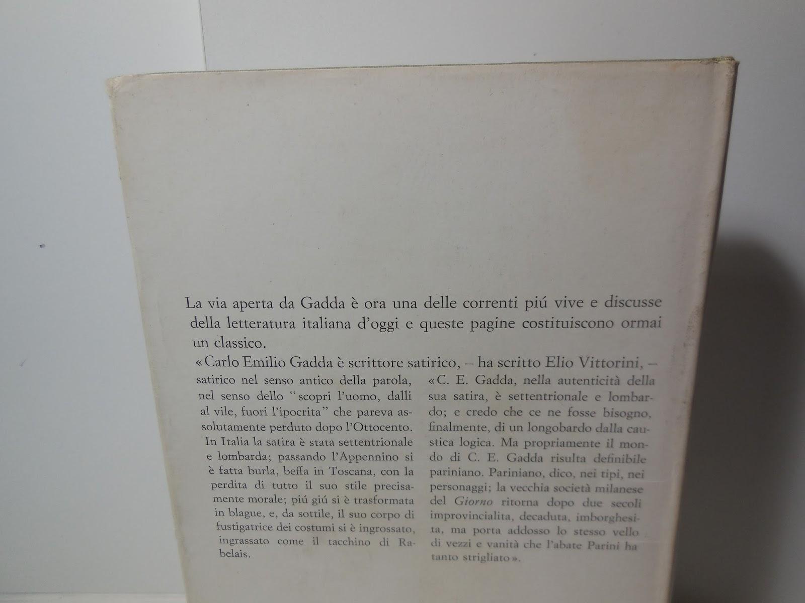 GADDA L ADALGISA PDF DOWNLOAD