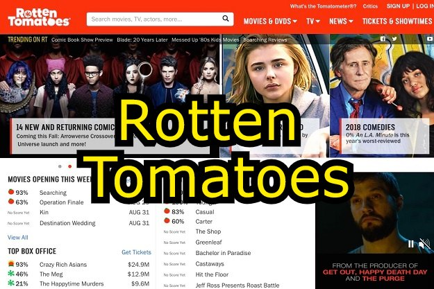 rotten tomatoes movie tv shows reviews
