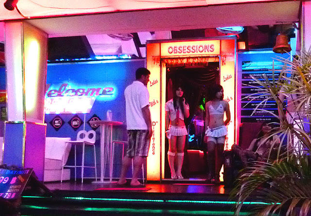 Pattaya ladyboy club