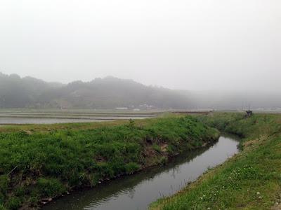 靄の釜戸川