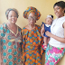 Four generations! Osas Ighodaro-Ajibade shares a photo with her grandmother, mother and daughter