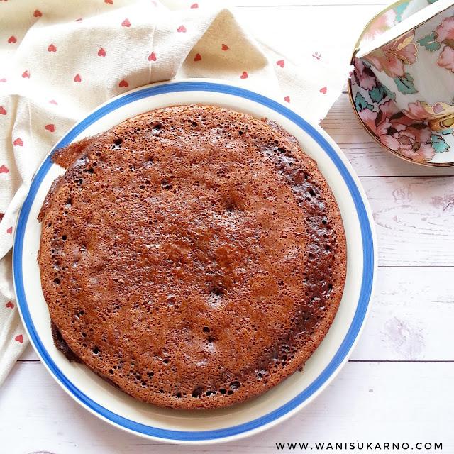 resepi kek sarang semut  mudah  perap guna periuk noxxa sukatan cawan memang Resepi Kek Guna Gelatin Enak dan Mudah