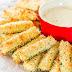 Συνταγή για στικ κολοκυθιού με τυρί -Σαν τηγανητά, γίνονται στο φούρνο