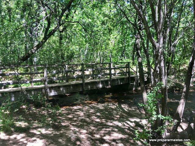 puentes en la ruta circular embalse navacerrada