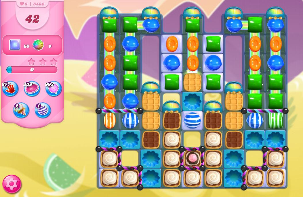 Candy Crush Saga level 8436