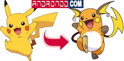 Cara Evolusi Pikachu Di Pokemon Go