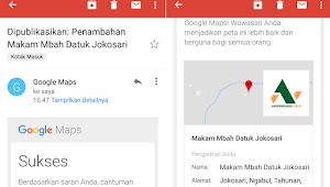 Makam Mbah Datuk Jokosari Ngabul Sudah Terdaftar di Maps Google
