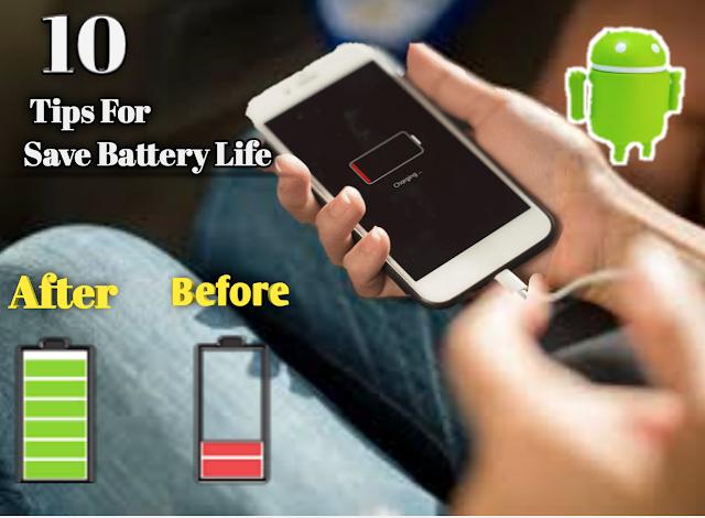 স্মার্টফোনের ব্যাটারি দীর্ঘদিন ভাল রাখার ১০টি গুরুত্বপূর্ণ টিপস এখনই জেনে নিন | 10 Tips For Save Battery Life