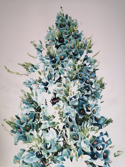 Puya Watercolour Painting Jessica Shepherd