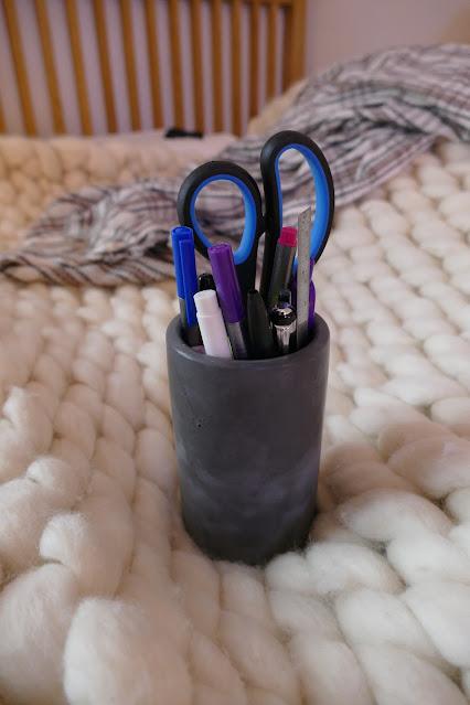 About Time Design Shop Review,  About Time Design Shop etsy,  About Time Design Shop concrete pot, concrete cactus pot, home decor ideas studio apartment