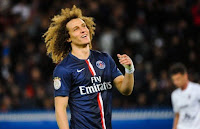 Defender of PSG David Luiz