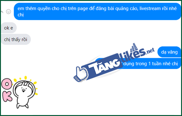 thue page tich xanh