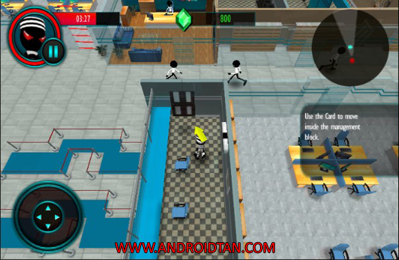 Stickman Bank Robbery Escape Mod Apk Latest Version