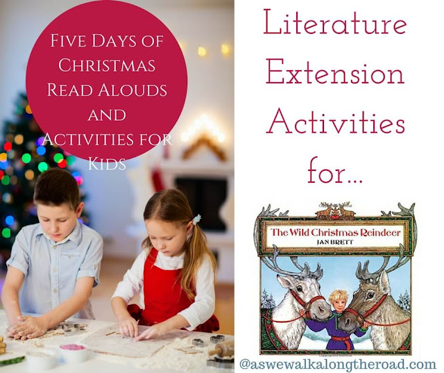 Literature extension activities for The Wild Christmas Reindeer #literature #homeschooling