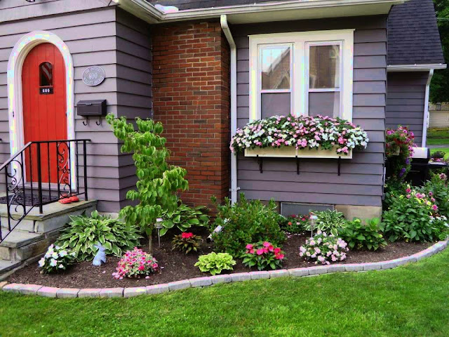 Home landscaping concept and ideas