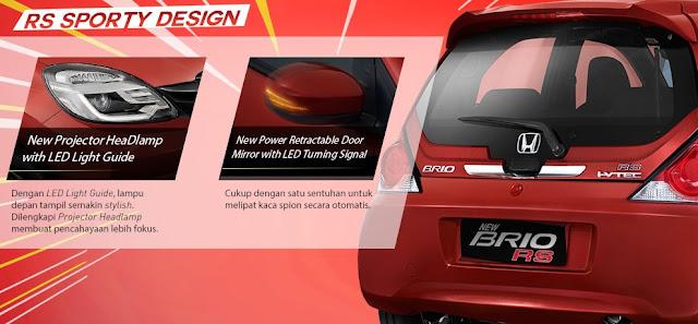 Mobil Honda Brio RS