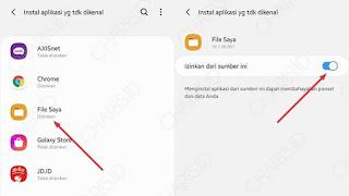 cara mudah install gbwhatsapp