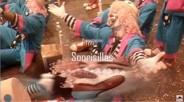 """Presentación con Letra Comparsa """"Sonri-sillas"""" de Antonio Martínez Ares (1990)"""