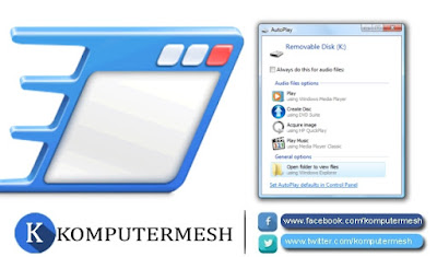 2 Cara Mematikan Autorun (Autoplay) Flashdisk Windows 7