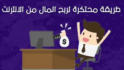 طريقة محتكرة يستخدمها العرب لمضاعفة الأرباح والزيارات في المدونة
