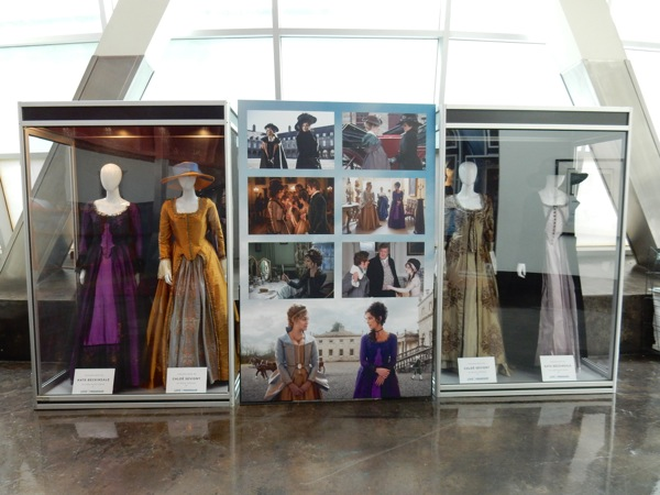 Love and Friendship movie costume exhibit