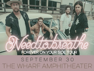 NeedToBreathe in Concert at the Wharf Amphitheater, Orange Beach Alabama