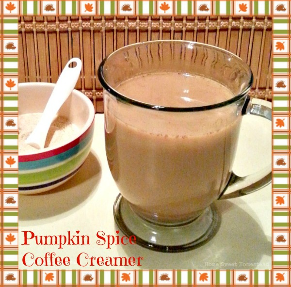 Pumpkin Spice Powdered Coffee Creamer