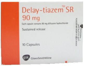 سعر ودواعى إستعمال أقراص ديلاى تيازيم Delay Tiazem للضغط