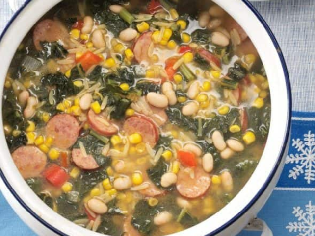 Winter Country Soup Recipe #healthy #souprecipe